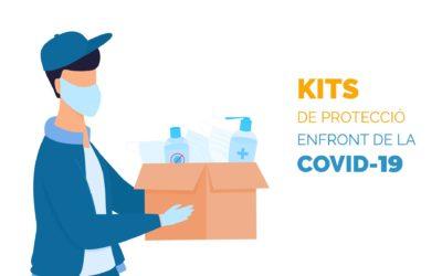 Kits de protecció davant de la Covid-19