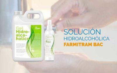 Solución hidroalcohólica Farmitram Bac