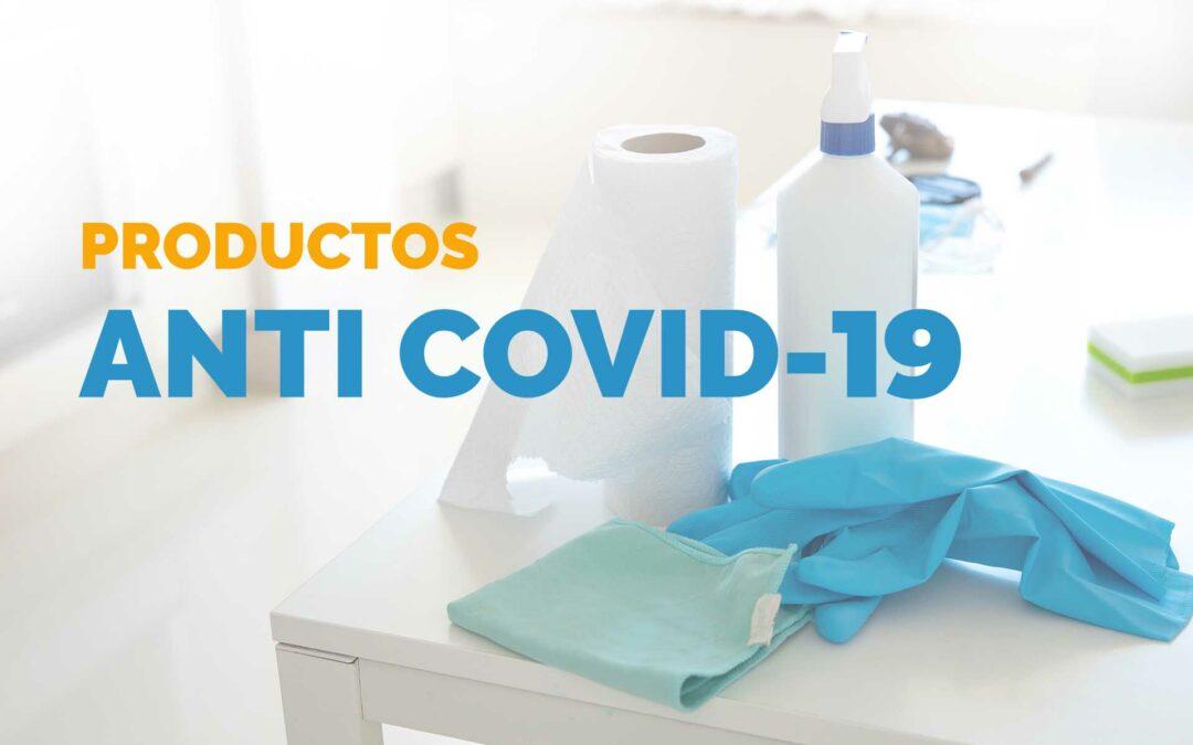 Nuestra selección de productos anti Covid-19