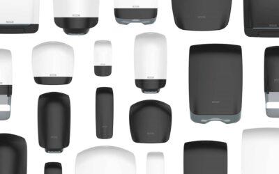Dispensadores Katrin Inclusive: Diseño higiénico e inclusivo