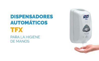 Dispensador automático TFX para la higiene de manos