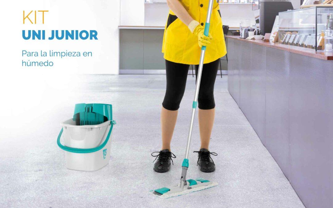 Kit Uni Junior, para la limpieza en húmedo