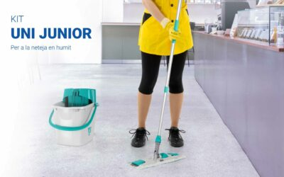 Kit Uni Junior, per a la neteja en humit