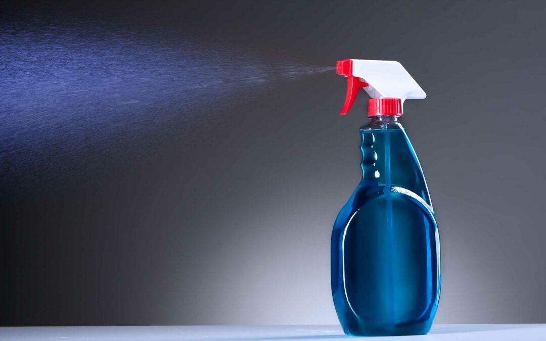 Productos desinfectantes tóxicos higiene profesional