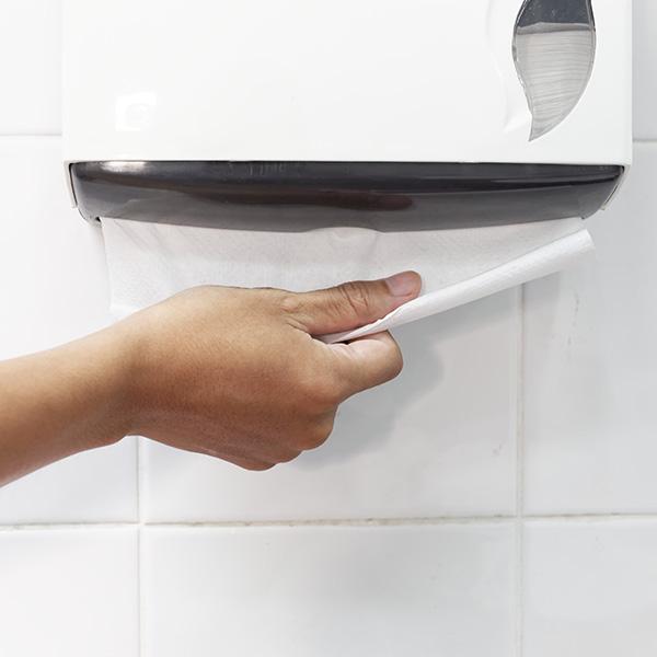 Textura del papel reciclado