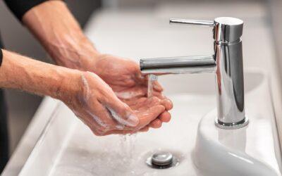 Higiene de manos para reducir la huella microbiana