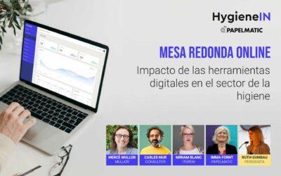 """Resumen de la mesa redonda """"Impacto de las herramientas digitales en el sector de la higiene"""""""