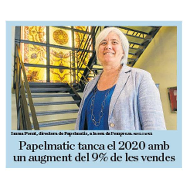 Diario Ara Papelmatic cifras