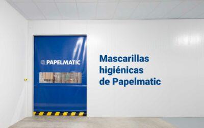 Mascarillas higiénicas fabricadas por Papelmatic