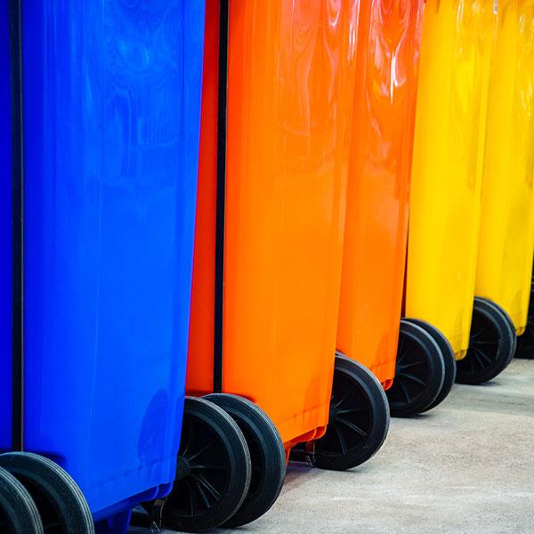 Compra contenedor color para reciclar