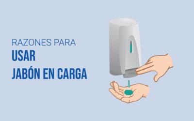 Infografía: Ventajas de usar cargas de jabón