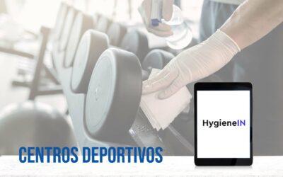 Sistema inteligente HygieneIN para centros deportivos